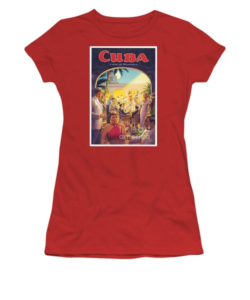 Cuba-land Of Romance Women's T-Shirt (Athletic Fit)