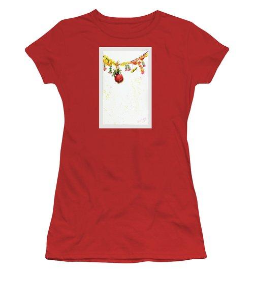 Dahi Handi Women's T-Shirt (Athletic Fit)