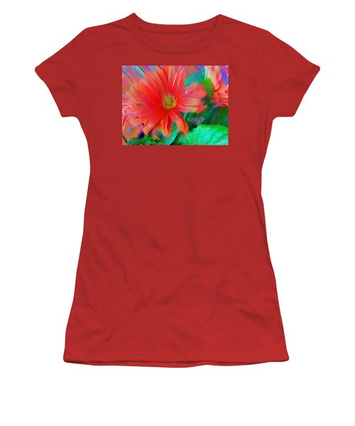 Daisy Fun Women's T-Shirt (Junior Cut) by Karen Nicholson