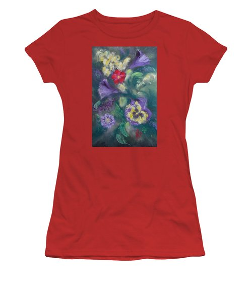 Dance Of The Flowers Women's T-Shirt (Athletic Fit)