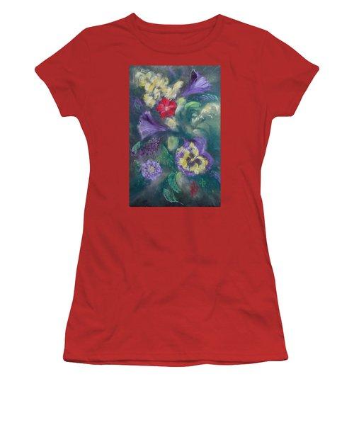 Dance Of The Flowers Women's T-Shirt (Junior Cut)