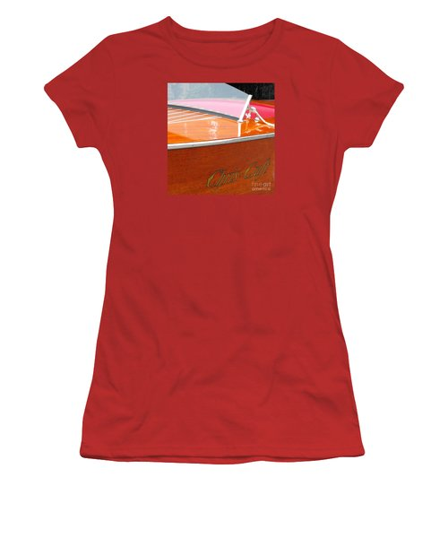 Chris Craft Deluxe Women's T-Shirt (Athletic Fit)
