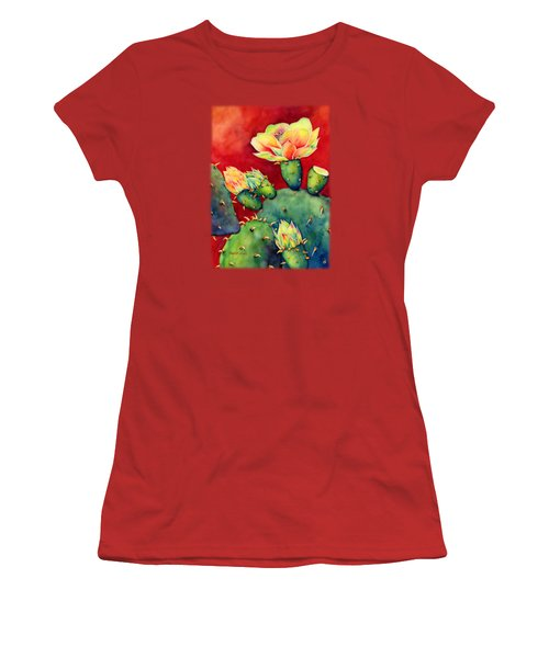 Desert Bloom Women's T-Shirt (Athletic Fit)