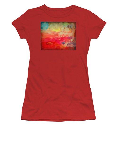Desert Burn Women's T-Shirt (Athletic Fit)