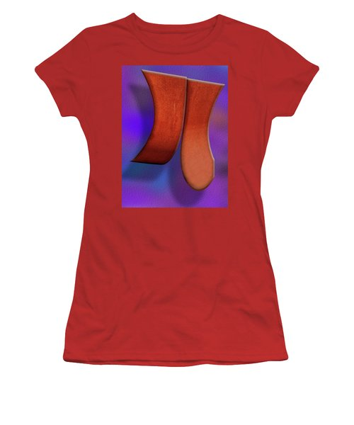 Women's T-Shirt (Athletic Fit) featuring the photograph Detached by Paul Wear