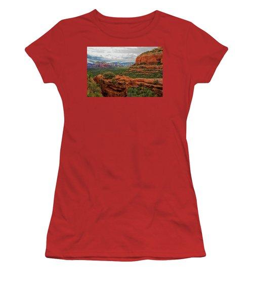 Devil's Bridge Women's T-Shirt (Athletic Fit)