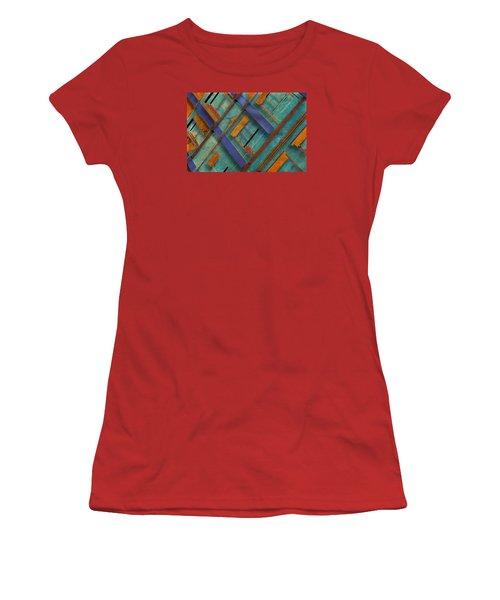Diagonal Women's T-Shirt (Junior Cut) by Don Gradner