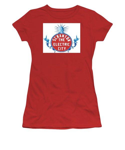 Diamond Joe Women's T-Shirt (Junior Cut) by Michael Coolbaugh