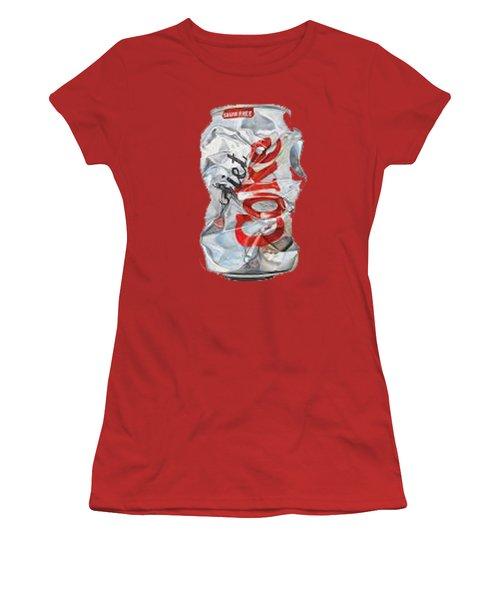 Diet Coke T-shirt Women's T-Shirt (Junior Cut) by Herb Strobino