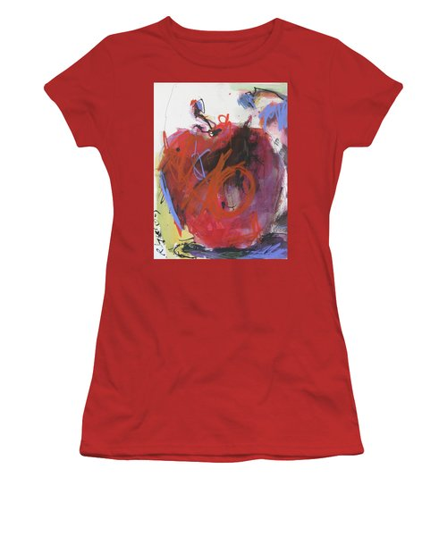 Women's T-Shirt (Junior Cut) featuring the painting Dr. Repellent by Robert Joyner