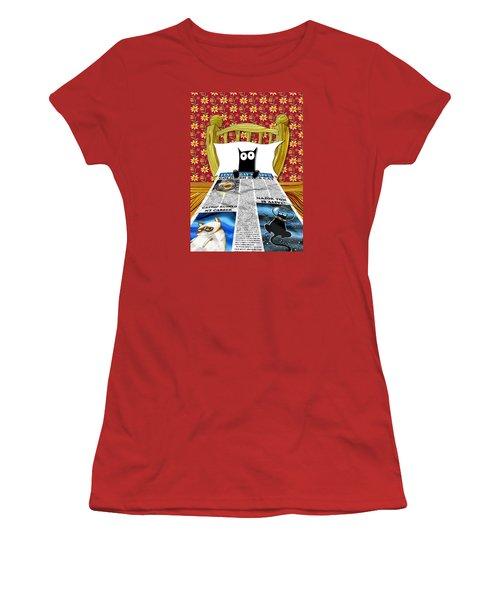 Duvet Cover Women's T-Shirt (Athletic Fit)
