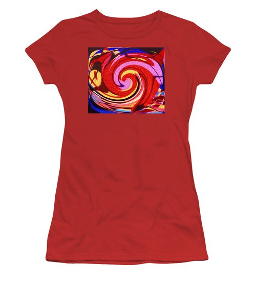 Eagle And Bear Women's T-Shirt (Junior Cut) by Ian  MacDonald