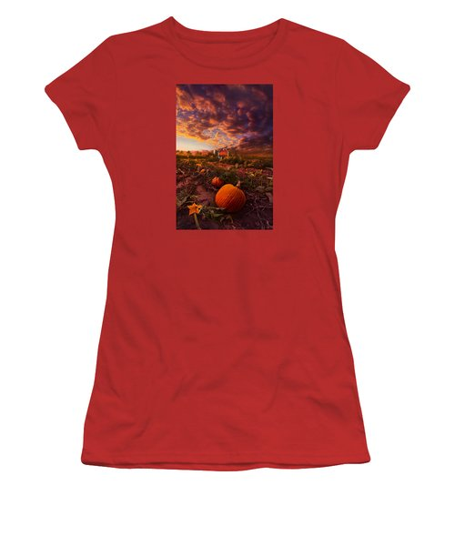 Echos You Can See Women's T-Shirt (Junior Cut) by Phil Koch