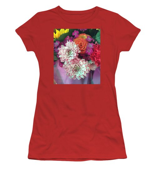 Elegant And Romantic Women's T-Shirt (Junior Cut) by Peggy Stokes