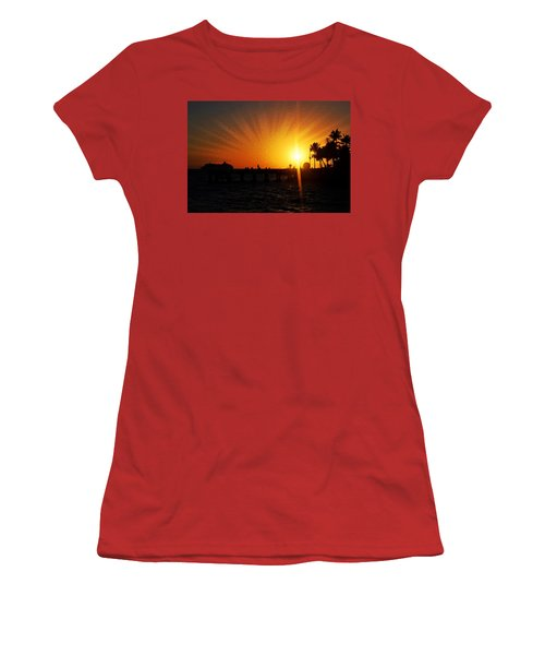 Eventide Women's T-Shirt (Junior Cut) by JAMART Photography