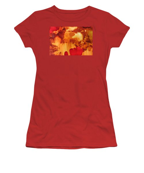 Explosion From The Galaxy Women's T-Shirt (Athletic Fit)