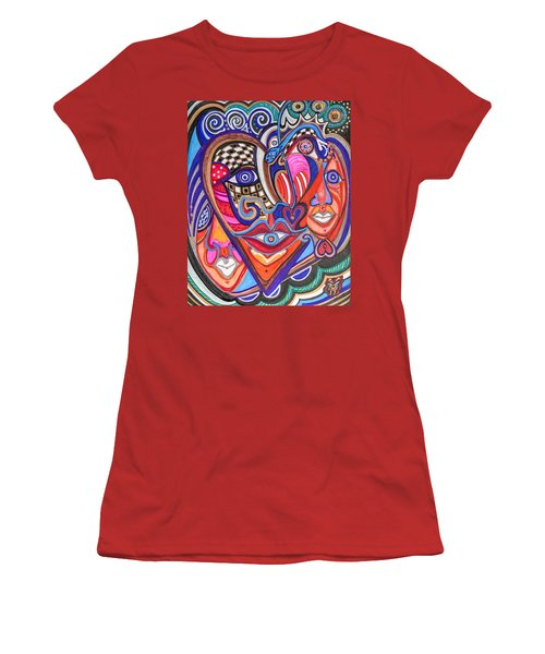 Faces Of Hope Women's T-Shirt (Athletic Fit)