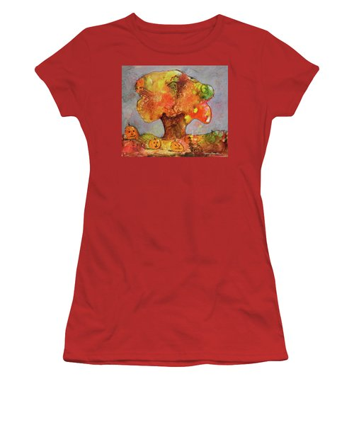 Fall Fun Women's T-Shirt (Athletic Fit)