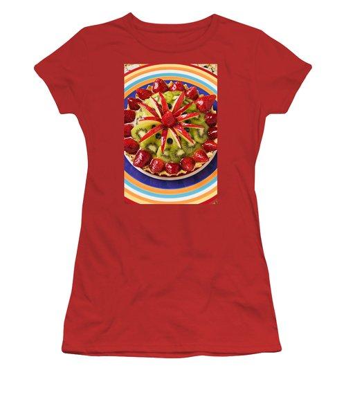 Fancy Tart Pie Women's T-Shirt (Junior Cut) by Garry Gay