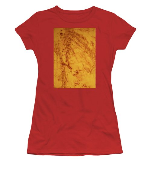 Women's T-Shirt (Junior Cut) featuring the photograph Feathers On The Wind by Cynthia Powell