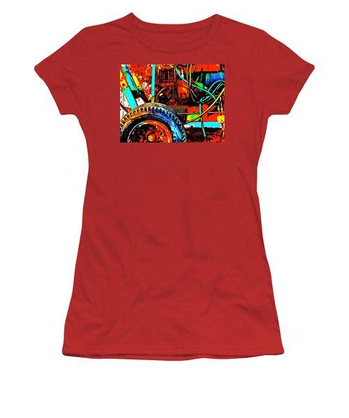 Feb 2016 46 Women's T-Shirt (Junior Cut) by George Ramos