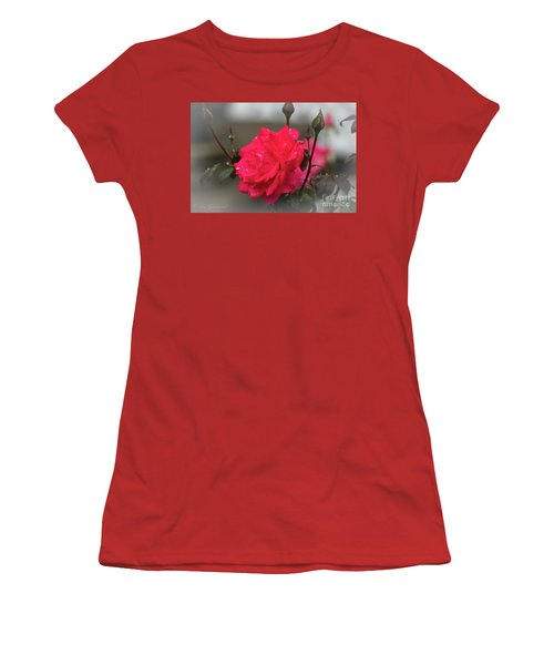 Feeling Rosy Women's T-Shirt (Athletic Fit)