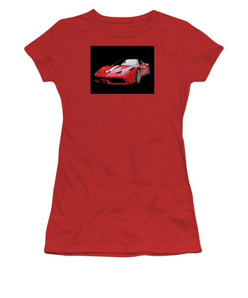 Ferrari 458 Speciale Aperta Women's T-Shirt (Athletic Fit)