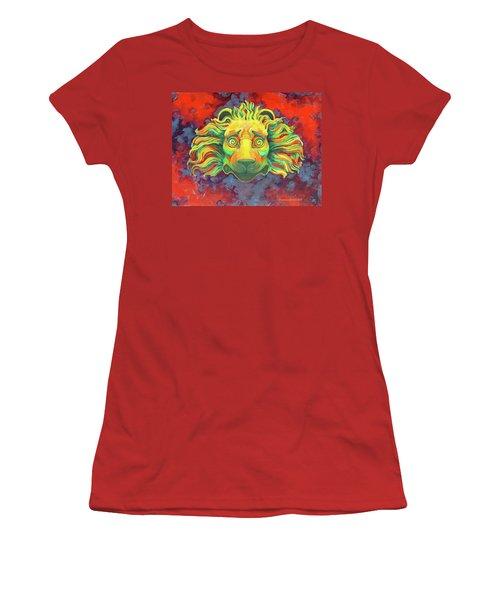 Fidardo's Lion Women's T-Shirt (Athletic Fit)