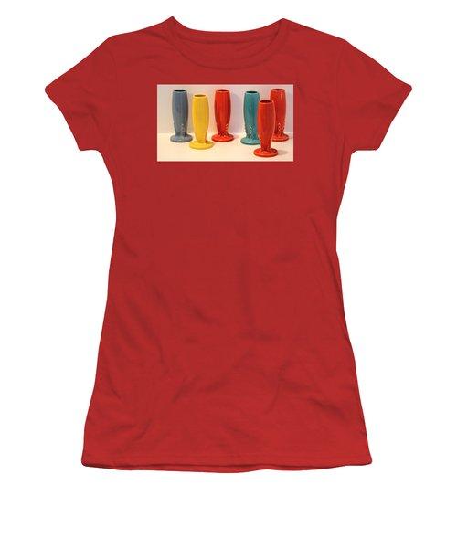 Fiestaware Bud Vases Women's T-Shirt (Athletic Fit)