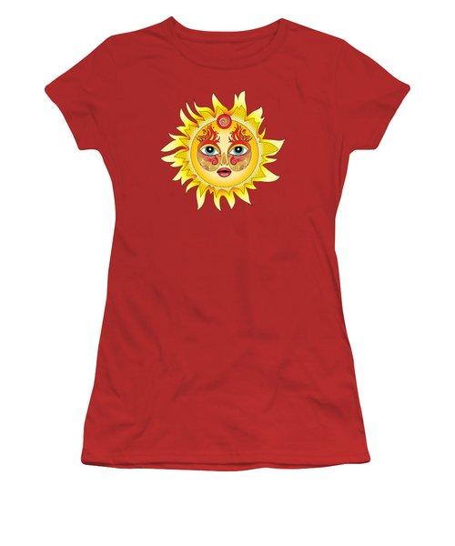 Fire Element Women's T-Shirt (Junior Cut) by Serena King