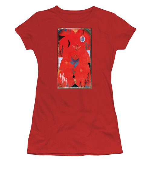 Flower Myth Women's T-Shirt (Junior Cut) by Paul Klee