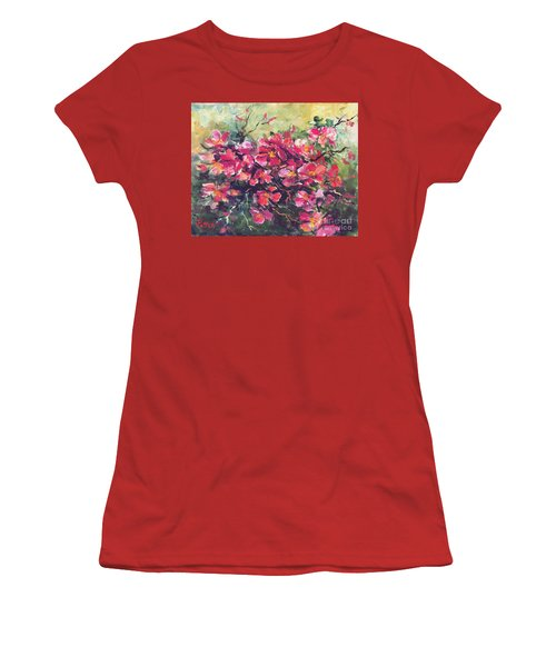 Flowering Quince Women's T-Shirt (Athletic Fit)