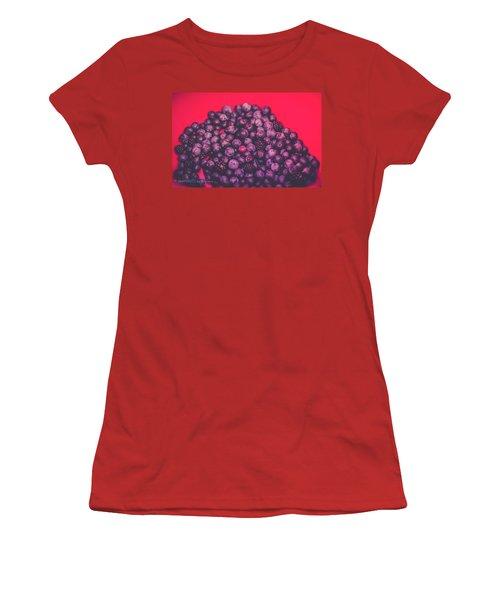 For The Love Of Berries Women's T-Shirt (Junior Cut) by Stefanie Silva