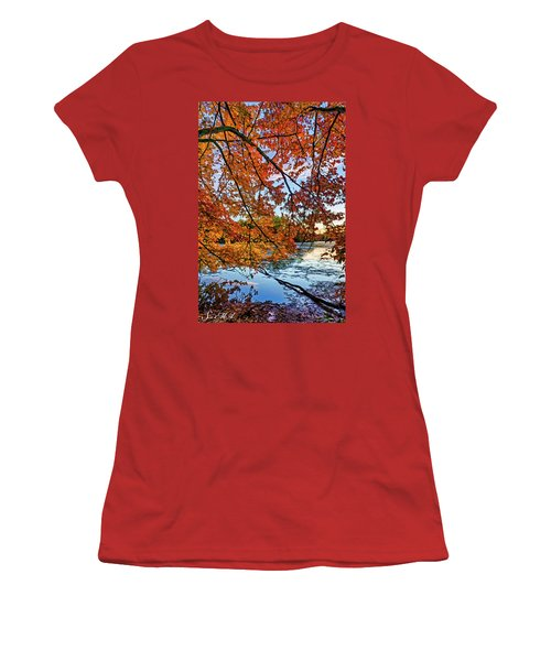 French Creek 15-110 Women's T-Shirt (Junior Cut) by Scott McAllister