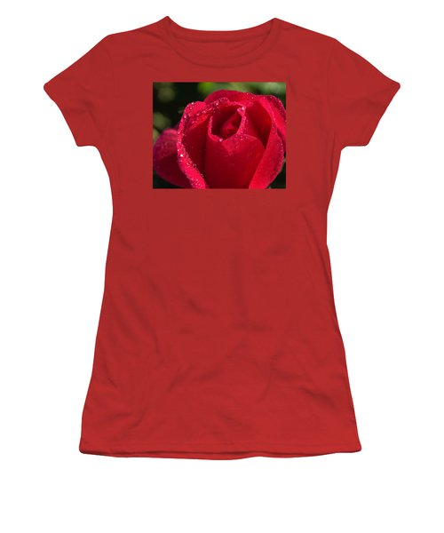 Fresh Rose Women's T-Shirt (Athletic Fit)