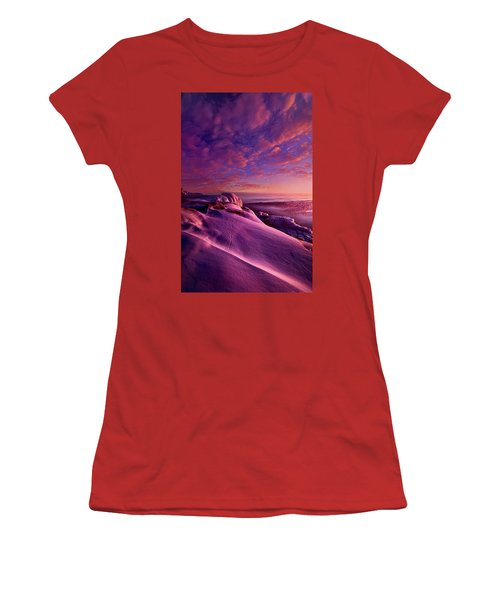 Women's T-Shirt (Junior Cut) featuring the photograph From Inside The Heart Of Each by Phil Koch