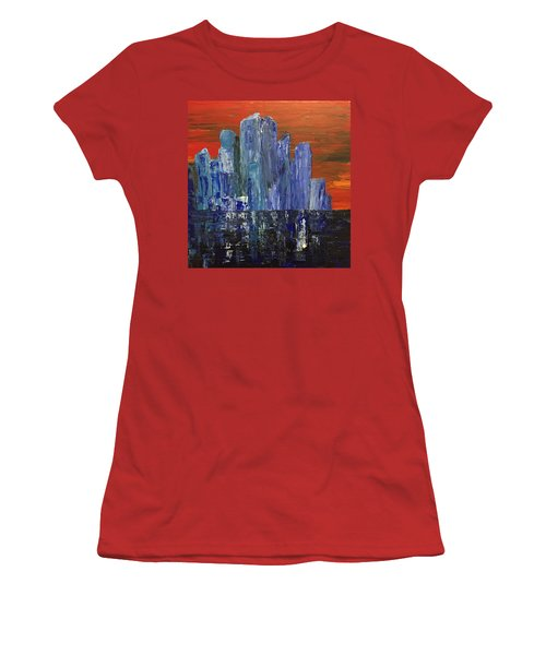Frozen City Women's T-Shirt (Athletic Fit)