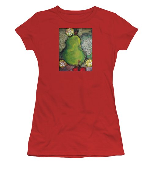 Fruits And Flowers Women's T-Shirt (Athletic Fit)
