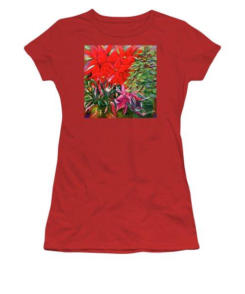 Gather Round Friends Women's T-Shirt (Junior Cut)
