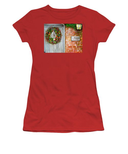 George Michaels Mill Cottage Women's T-Shirt (Athletic Fit)