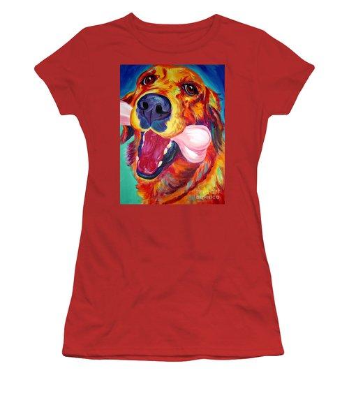 Golden - My Favorite Bone Women's T-Shirt (Athletic Fit)
