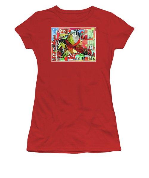 Goldfish #2 Women's T-Shirt (Athletic Fit)