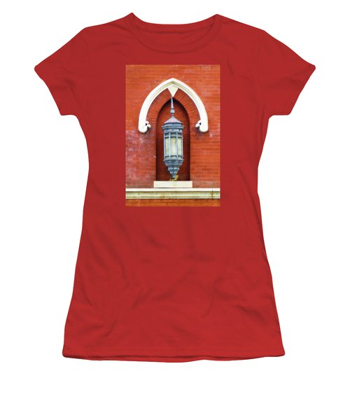 Guiding Light At The Mother Church Women's T-Shirt (Junior Cut)