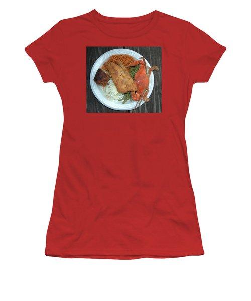 Gullah Plate Women's T-Shirt (Athletic Fit)