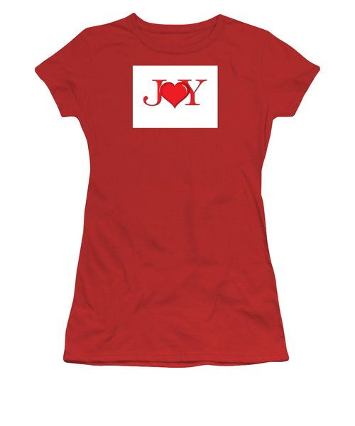 Heart Joy Women's T-Shirt (Athletic Fit)
