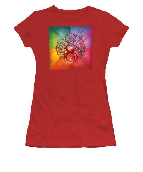 Heart Of Infinity Women's T-Shirt (Athletic Fit)