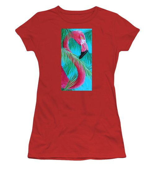 Women's T-Shirt (Junior Cut) featuring the painting Hidden Treasure by Susan DeLain