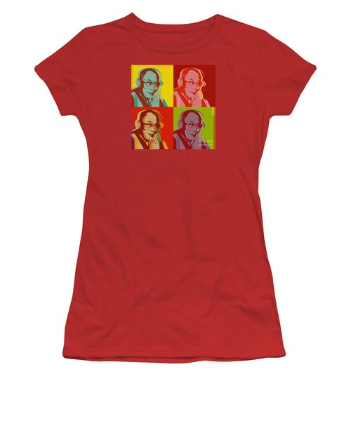 His Holiness The Dalai Lama Of Tibet Women's T-Shirt (Athletic Fit)
