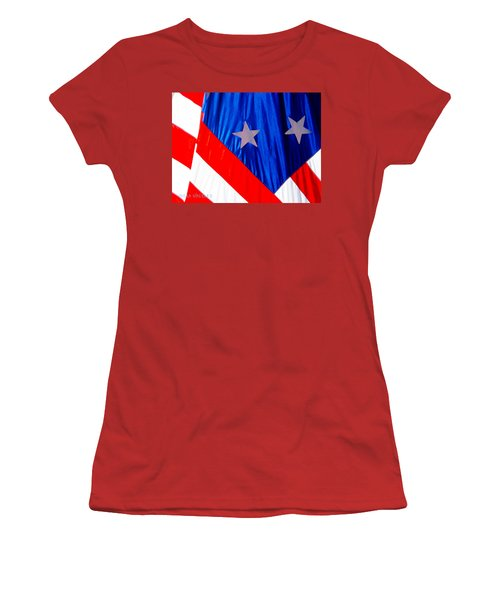 Historical American Flag Women's T-Shirt (Athletic Fit)