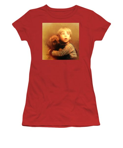 Hold On Tight Women's T-Shirt (Athletic Fit)